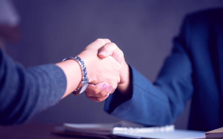 shake hand